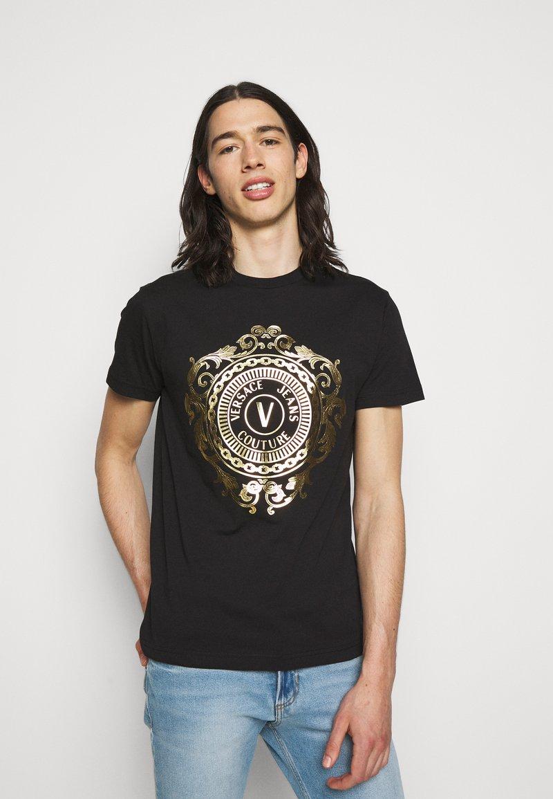 Versace Jeans Couture - T-shirt imprimé - black