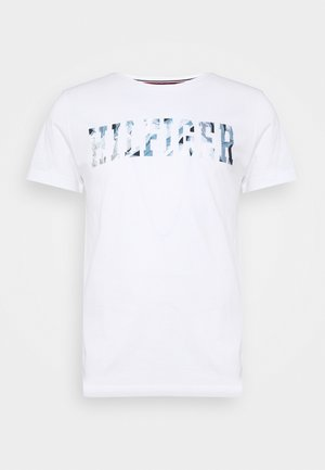 FLORAL TEE - Camiseta estampada - white
