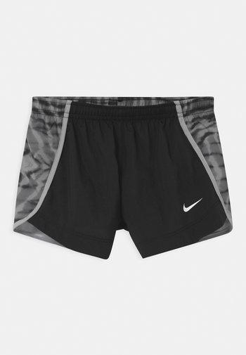 DRY SPRINTER - Sports shorts - black/light smoke grey