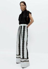 Uterqüe - Trousers - white - 1