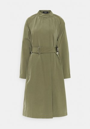 RUCHED TRENCH HARBOR - Classic coat - bonsai