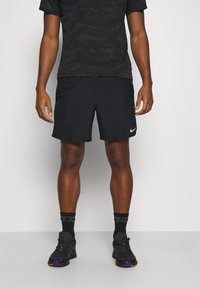 Nike Performance - CHALLENGER SHORT - Sports shorts - black/silver - 0