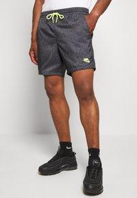 Nike Sportswear - FESTIVAL  - Shorts - dk smoke grey/volt - 0