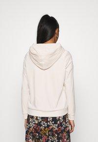 Vero Moda - VMATHENA - Zip-up hoodie - pumice stone - 2