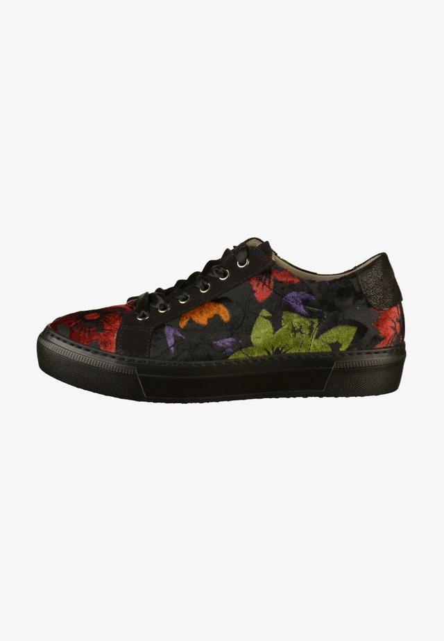 Sneakers laag - black/multi-color