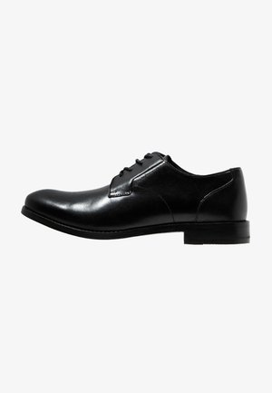 EDWARD PLAIN - Smart lace-ups - black