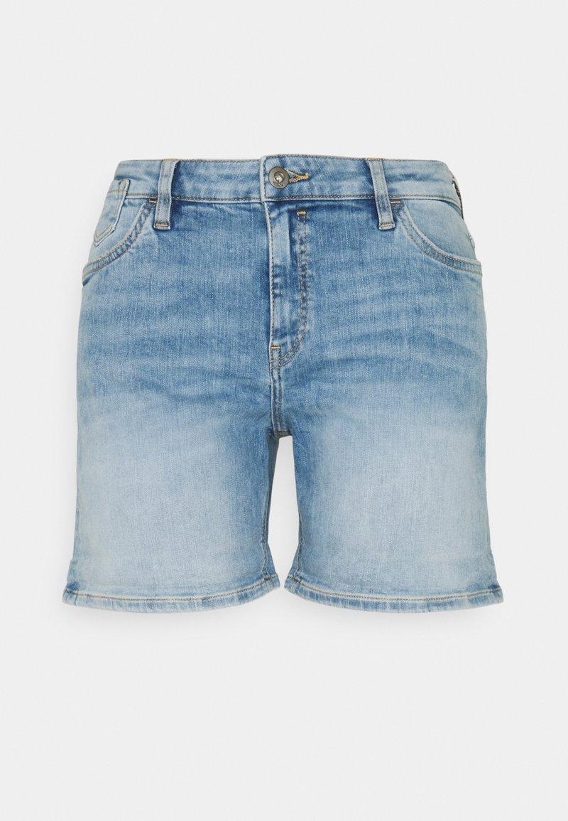 edc by Esprit - Shorts di jeans - blue light wash