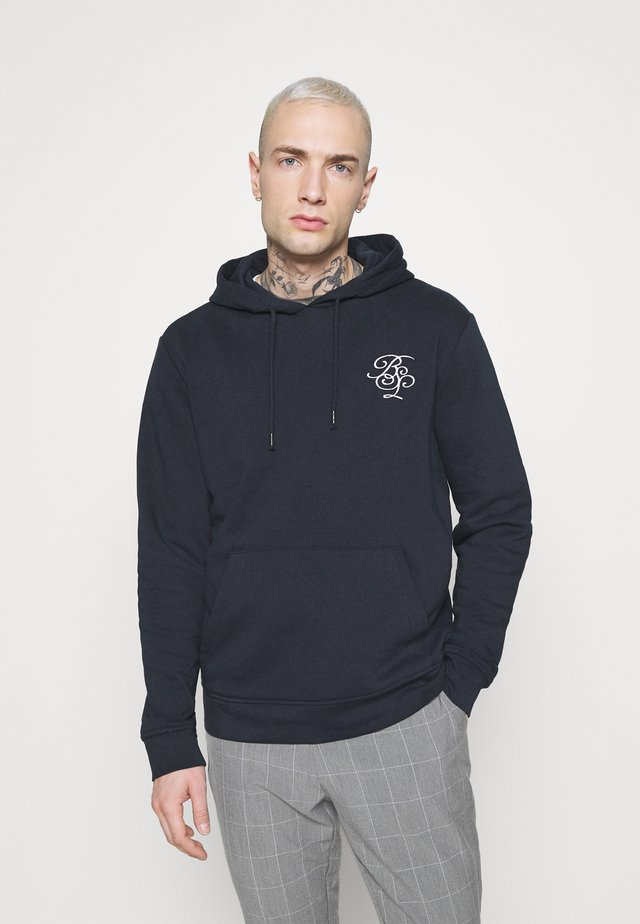 MERLIN - Sudadera - rich navy/optic white