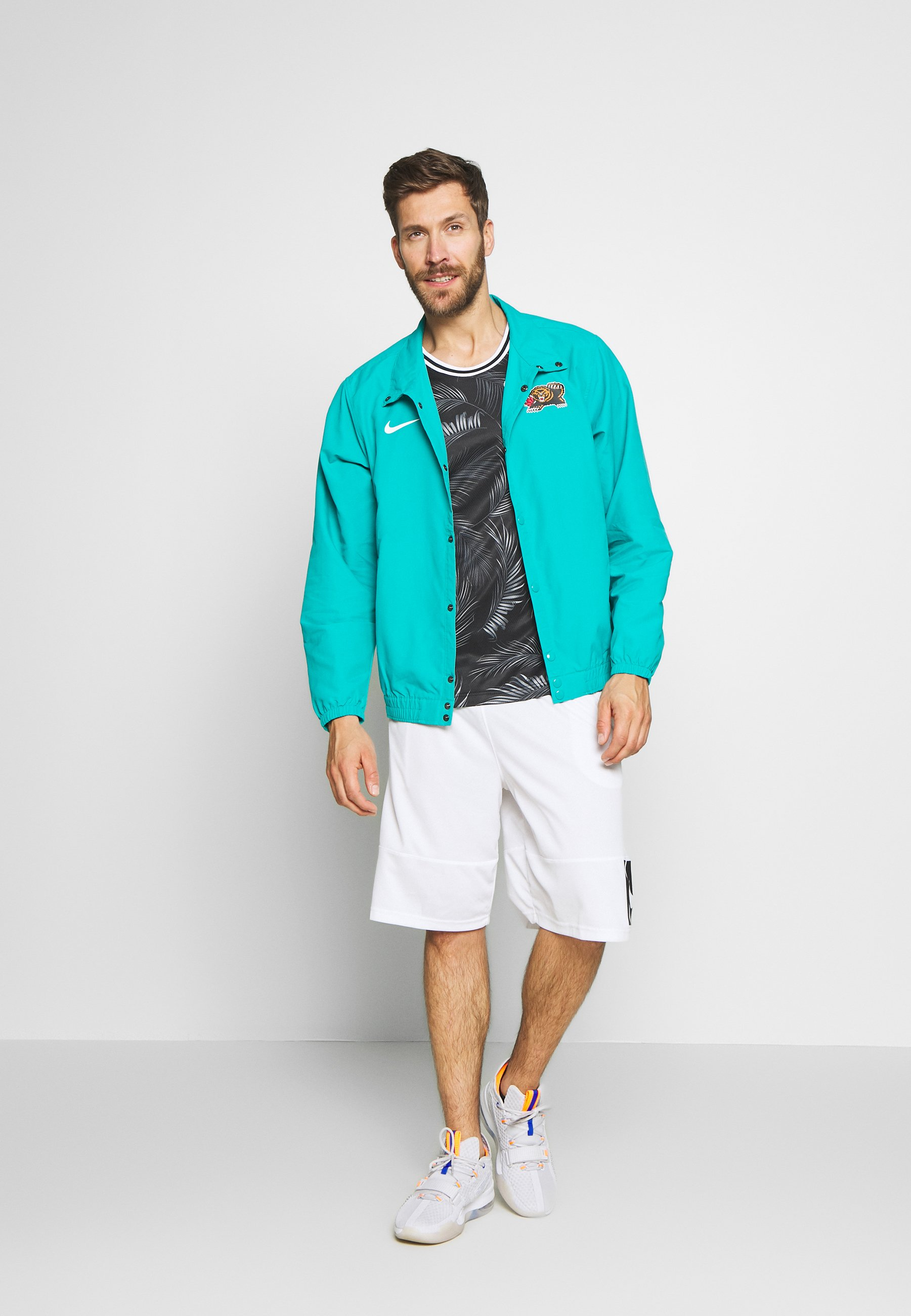 Nike Performance NBA MEMPHIS GRIZZLIES CITY EDITION JACKET - Article de supporter - turbo green/white