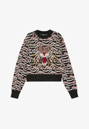 ROAR INTARSIA - Jumper - black