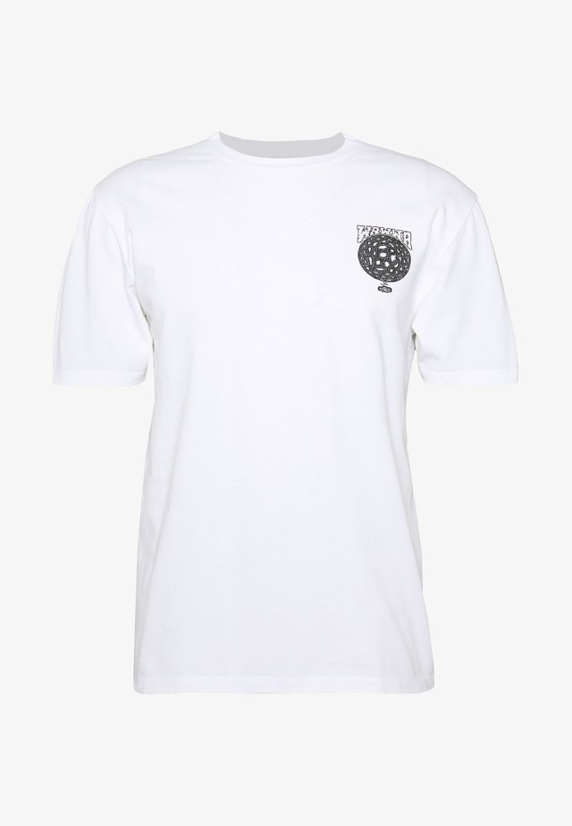 WAWWA SOUL DESERT GRAPHIC  - T-shirt print - white