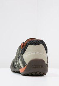 Geox - SNAKE - Półbuty wsuwane - dark grey - 3