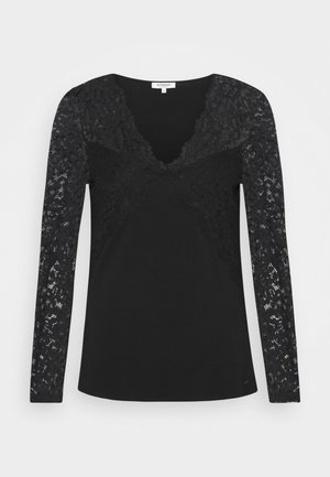 TEMALA - Long sleeved top - noir