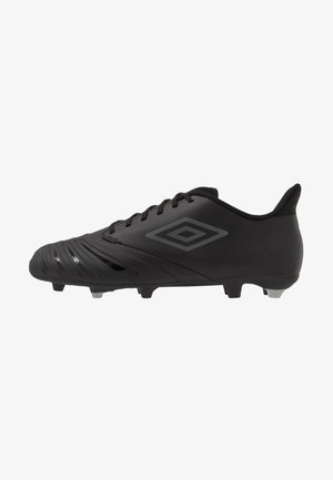 UX ACCURO III PREMIER FG - Moulded stud football boots - black/white
