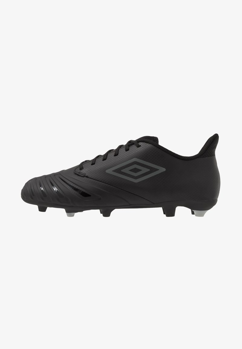 Umbro - UX ACCURO III PREMIER FG - Moulded stud football boots - black/white