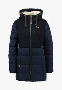 Ragwear - ASHANI PUFFY BLOCK - Parka - navy - 4