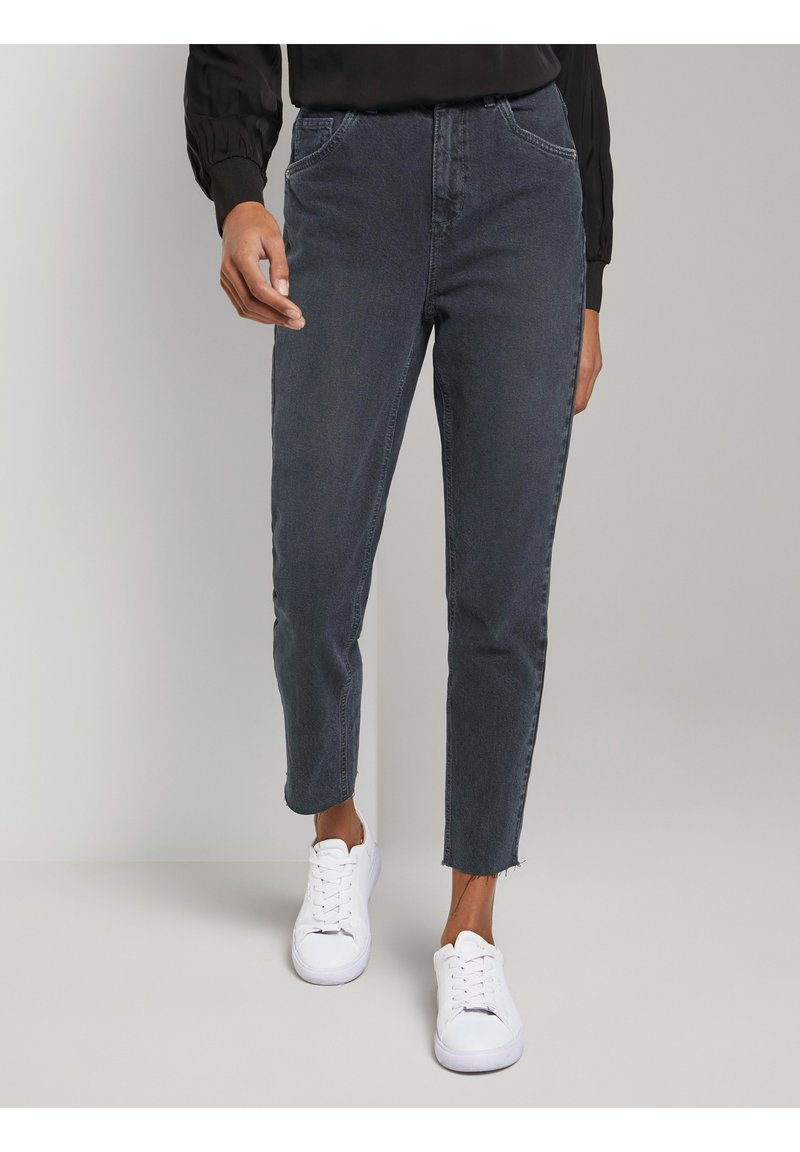mine to five TOM TAILOR - Jeans Tapered Fit - grey