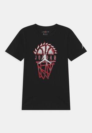 BASELINE UNISEX - Print T-shirt - black
