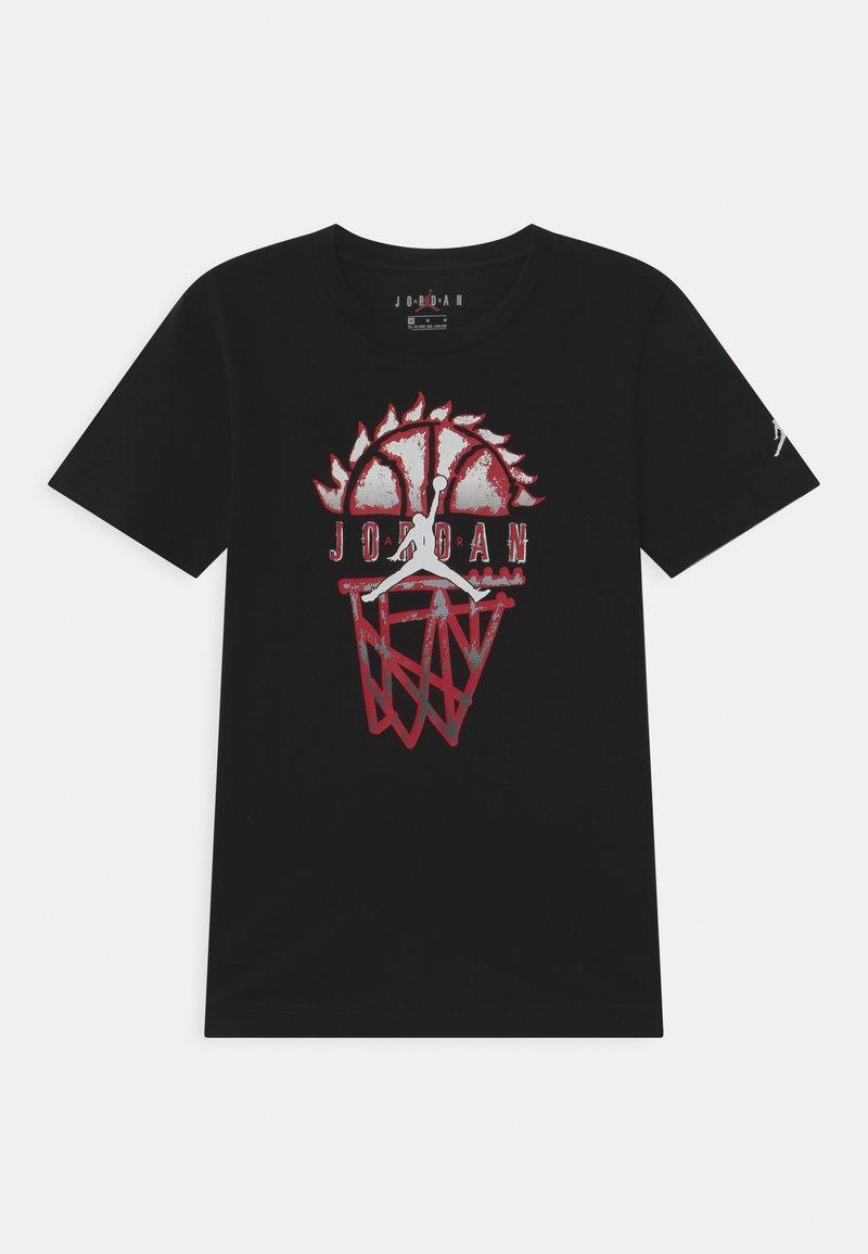 Jordan - BASELINE UNISEX - Print T-shirt - black