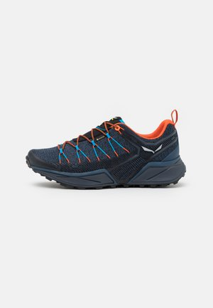 MS DROPLINE GTX - Hiking shoes - dark denim/black