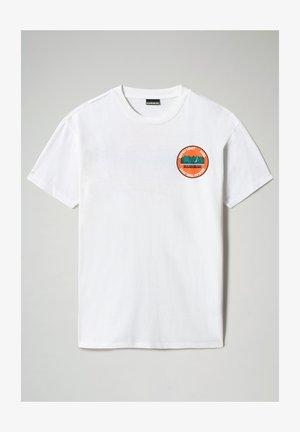 S-ALHOA - Print T-shirt - white graph m