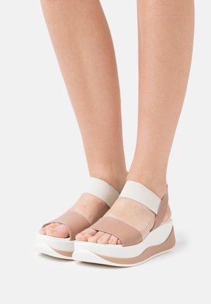 POMPEYA - Platform sandals - pharos makeup