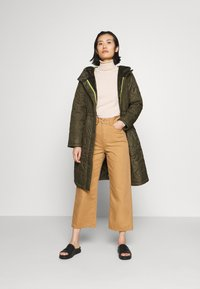 comma casual identity - Classic coat - khaki - 1