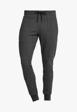 JJIWILL JJCLEAN PANTS - Tracksuit bottoms - dark grey melange