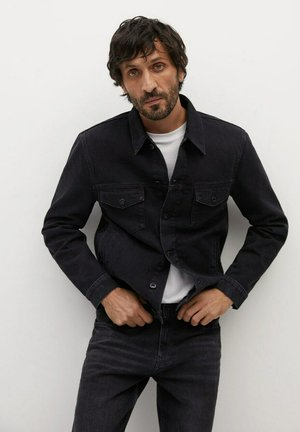 RYAN - Veste en jean - black denim
