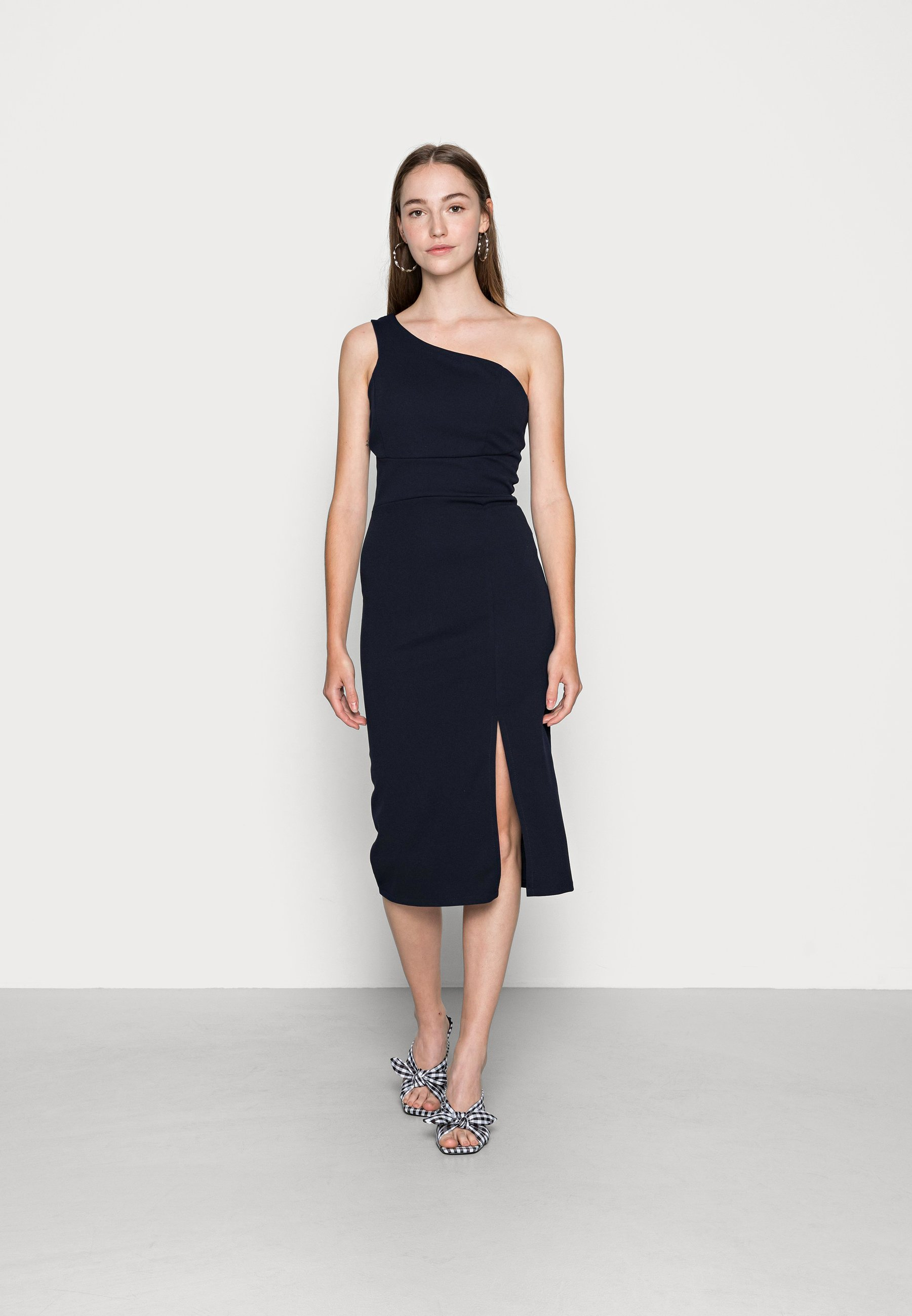 Women PIYA ONE SHOULDER MIDI DRESS - Cocktail dress / Party dress