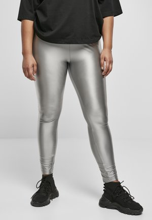 Leggings - silver-coloured