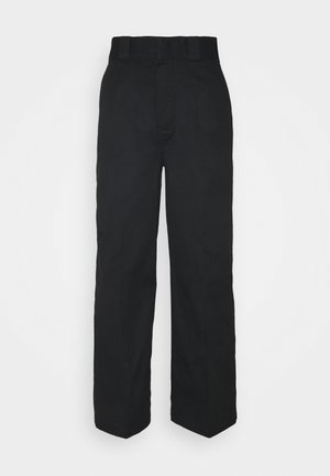 WINNSBORO - Trousers - black