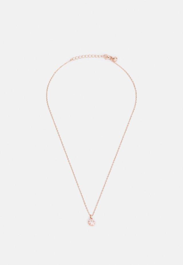 DORRIY DAISY PENDANT - Collana - rose gold-coloured/baby pink