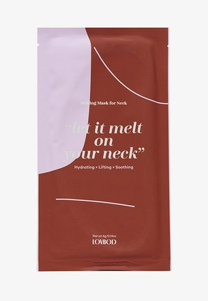 MELTING MASK FOR NECK 2 PACK - Skincare set - -