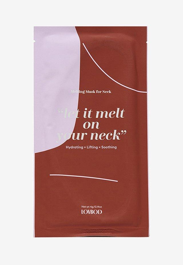 MELTING MASK FOR NECK 2 PACK - Huidverzorgingsset - -