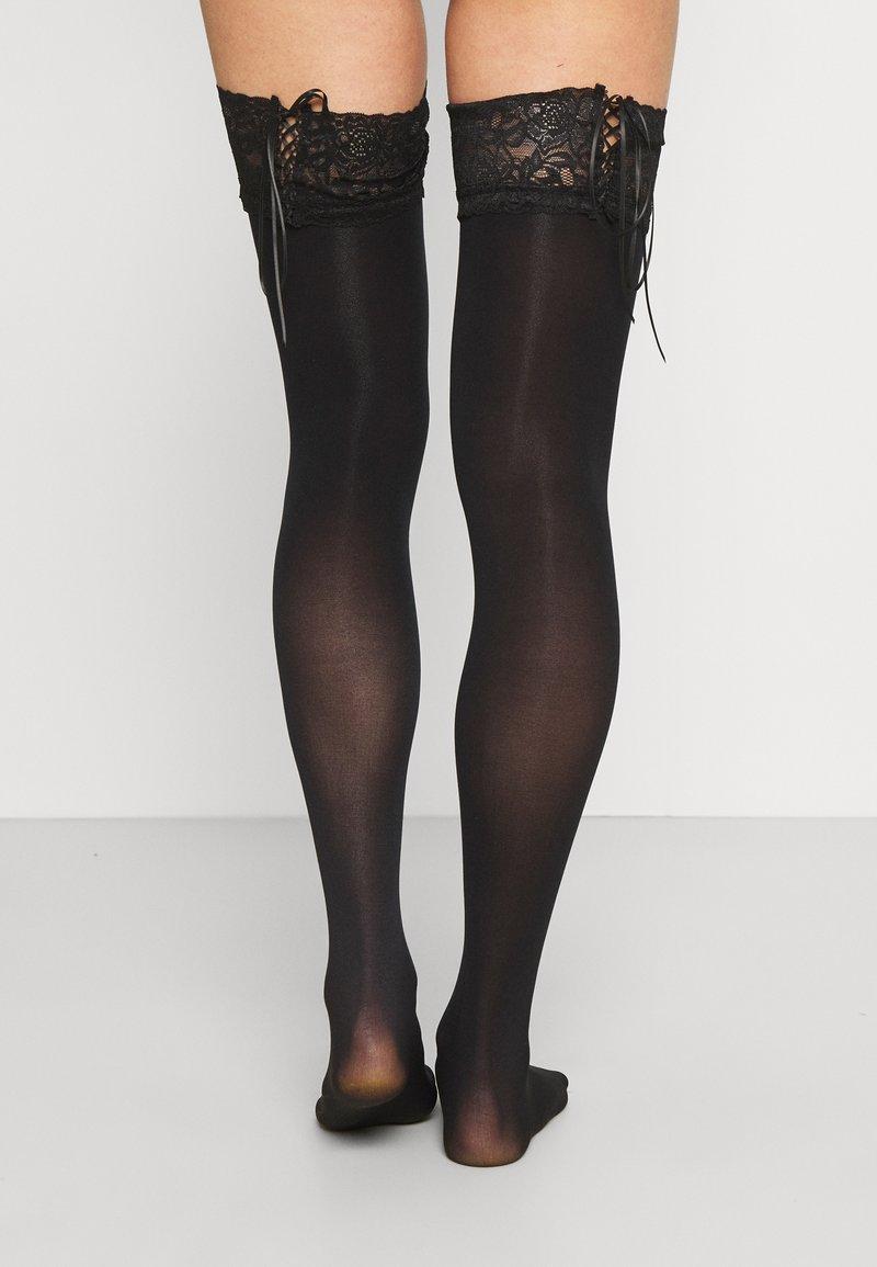 Ann Summers - HOLD UPS - Overknee-strømper - black