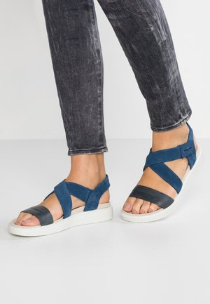 FLOWT - Outdoorsandalen - marine/true navy