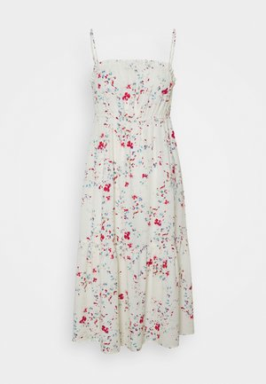 VMMILA SINGLET CALF DRESS - Denní šaty - birch/mila
