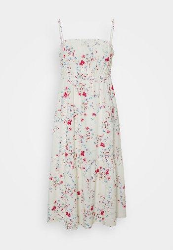 VMMILA SINGLET CALF DRESS - Robe d'été - birch/mila