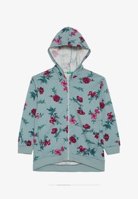 Benetton - HOOD - Mikina s kapucí - light blue - 2