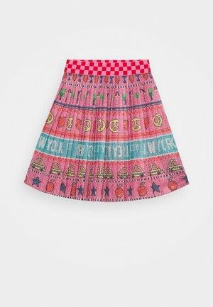 SKIRT - Áčková sukně - pink