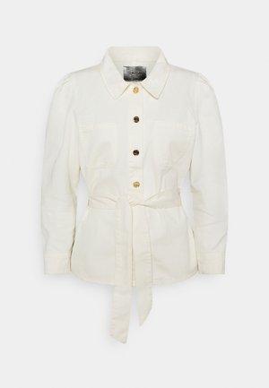 ONLMELROSE JACKET YORK - Denim jacket - ecru