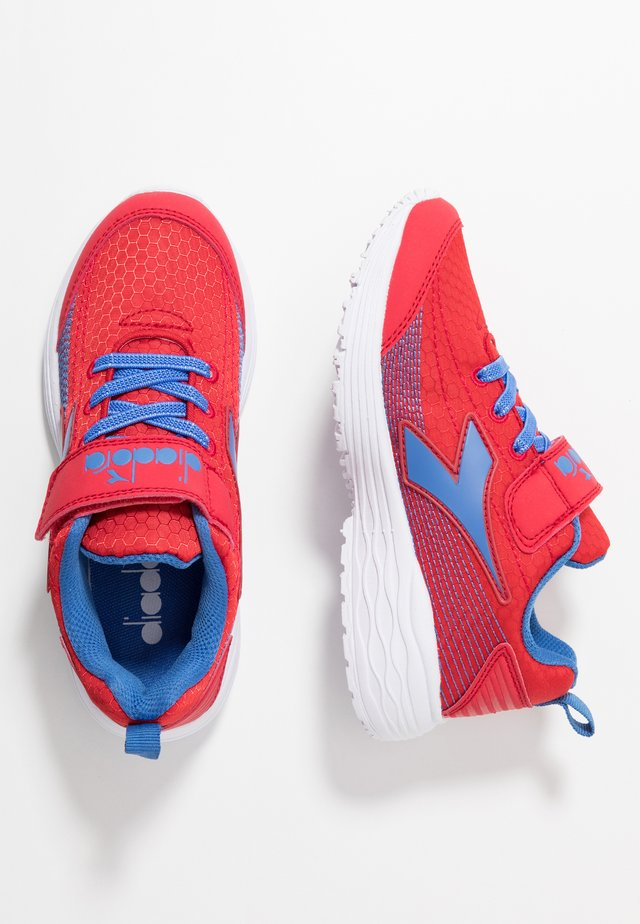 FLAMINGO 4 - Neutral running shoes - true red/star sapphire