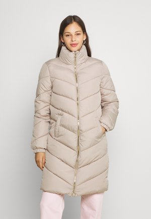 JDYFINNO LONG PADDED JACKET - Winter coat - simply taupe