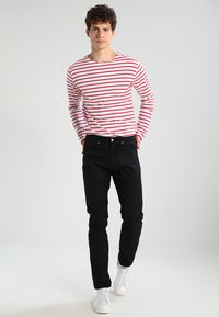 Carhartt WIP - VICIOUS PANT LAMAR - Trousers - black rinsed - 1