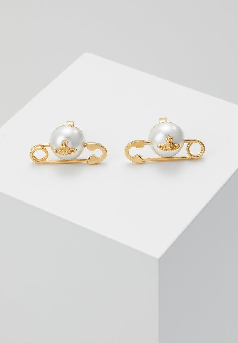 Vivienne Westwood - JORDAN EARRINGS - Earrings - yellow gold-coloured