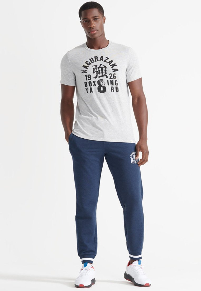 Superdry - Tracksuit bottoms - richest navy
