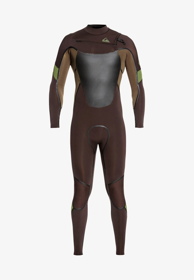 4/3MM SYNCRO PLUS  - Wetsuit - velvet brown/ dark beech