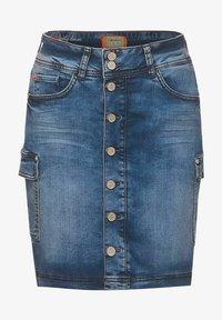 Street One - Pencil skirt - blau - 3