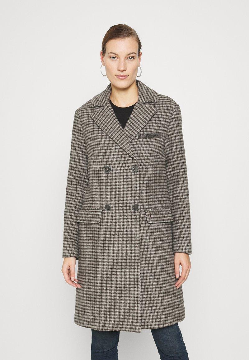 Mos Mosh - HELLA CHECK COAT - Classic coat - wet weather